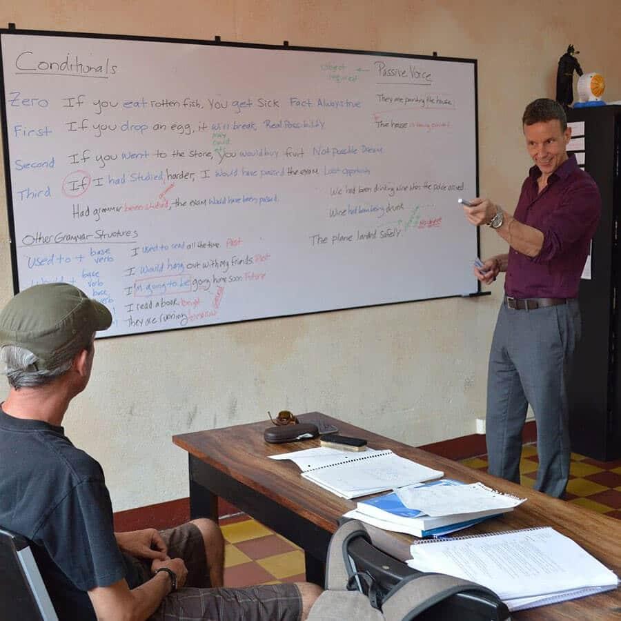 Tom Kearin Teaching